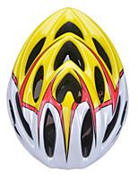 Casque ( Jaune/Noir , PC/Fibre de Carbone + EPS )-de Unisexe - pentru Cyclisme/Cyclisme en Montagne/Cyclisme sur Route/Cyclotourisme
