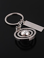 Wedding Keychain Favor [ Pack of 1Piece ] Non-personalised with A Spinning Ball Key Chain