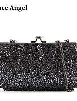 Women's Sequins Hand Beaded Prom Evening Handbag Party Bridal Purse Clutch