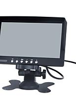 Entrada del monitor LCD en color de dos vías / vídeo de 7 pulgadas, entrada de audio de una manera