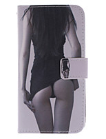 For Sony Case / Xperia Z3 Wallet / Card Holder / with Stand / Flip Case Full Body Case Sexy Lady Hard PU Leather for SonySony Xperia Z3 /