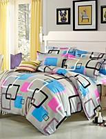Bettbezug-Sets Mehrfarbig - Polyester