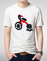 2015 Quality Cotton Men's Short Sleeve T-Shirt printing Hot Sell Hip Hop