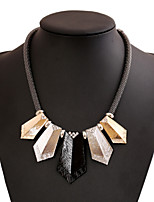 Unisex Alloy Necklace With