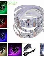 SENCART 5 M 300 5050 SMD RGB Accorciabile/Telecomando/Oscurabile/Collagabile/Adatto per veicoli/Auto-adesivo 72 WStrisce luminose LED