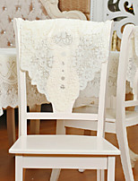 Wedding Décor 60*75 Fabric Milk White Chair Back Towel(Excluding The Table Cloth)
