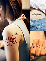 15PCS Fashion  Tattoo Stickers Temporary Tattoos