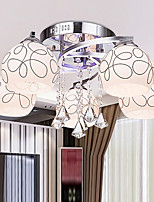 Flush Mount Mini Style Modern/Contemporary Living Room/Bedroom/Dining Room/Study Room/Office Metal