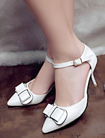 Women'Shoes Made-man with Pointed Toe Rough Heel and Thin Shoes More Color