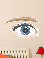 Modern/Contemporary Houses 3D Wall Clock Eyes  Indoor Clock