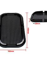 multifonction pvc tapis de voiture nobile téléphone boîte à gants de voiture universel