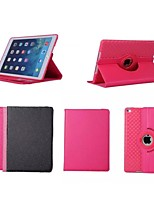 9.7 Inch 360 Degree Rotation Solid Color Pattern with Stand Case for iPad Air 2/iPad 6(Assorted Colors)