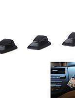 3шт удобно мини самоклеящиеся вешалка ABS автомобиль крюк