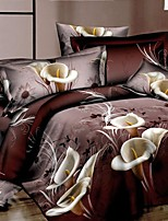 Lai Of Cosette's Creative 3 d Fashion Bedding Four Lily