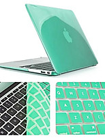 Solid Color Newest Crystal Full Body Case with Keyboard Cover for Macbook Air 11.6 inch (Assorted Colors)