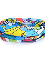 P843  Skating Pattern Outdoor Multifunctional Seamless Headscarf - Multicolor (49 x 24cm)