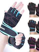 Cycling Gloves Fingerless Veasaers Sport Fitness Gloves Protective Anti Skid Multifunction Exercise Gloves