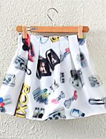 Aimei Women's Fashion   Sleeveless  Skirt (Cotton Blends)