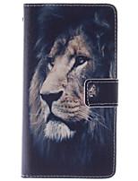 Pour Coque LG Porte Carte Portefeuille Avec Support Clapet Coque Coque Intégrale Coque Animal Dur Cuir PU pour LGLG G4 LG G3 LG G2 mini
