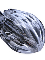 Unisex Fashion and High-Breathability PC + EPP Bicycle Helmet (32Vents) - Black + Silver