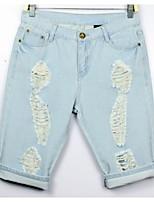 Women's Casual Shorts (Denim)