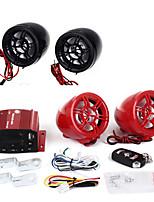 Motorbike Motorcycle Audio System Amplifier Speaker Radio AUX LCD