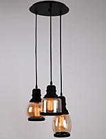 Lustre/Lampe suspendue - Traditionnel/Classique/Rustique/Vintage/Rétro - avec Style mini - Verre