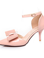 Women's Shoes Faux Stiletto Heel Heels/Pointed Toe/Closed Toe Pumps/Heels Office & Career/Dress/Casual Pink/White