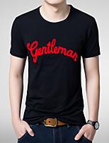 Quality Cotton Men's Short Sleeve T-Shirt printing Hot Sell