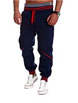 Men's Sweatpants , Casual/Formal/Sport Print Cotton/Cotton Blend