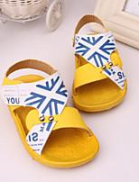 Zapatos de bebé - Sandalias - Exterior / Casual - Semicuero - Azul / Amarillo