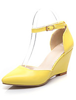 Women's Shoes Wedge Heel Pointed Toe Pumps Dress  More Colors Available