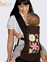 Bebear Baby Carrier Cotton Floral Baby Bakcpack 3 in 1 Baby Wrap Outdoor