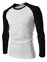 Quality Cotton 2015 Men Long Sleeve Sport MEn T-Shirt