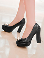 Women'Shoes Made-man with CircleToe Rough Heel and Thin Shoes More Color