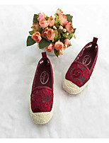 Girls' Shoes Casual  Lace Loafers Black/Pink/Red