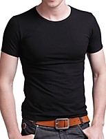 Han&Chloe®Men's Round Neck Cotton T-Shirt