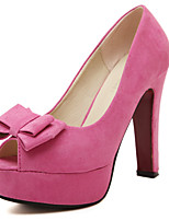 Women's Shoes Chunky Heel Peep Toe Platform Pumps Party and Dress More Colors available