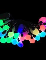 4W 5 Meter Outer Diameter 20pcs Bulb LED Modeling String Lights  Super Big Ball Lights, RGB Color