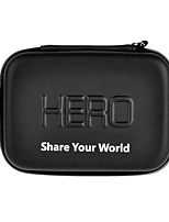Fat Cat 9 Inches Waterproof PU Leather Extra Thick Anti-shock EVA Case for Gopro Hero 4/3+/3/2/1/sj4000/sj5000/sj6000