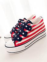 Zapatos de mujer - Tacón Plano - Plataforma / Creepers / Comfort / Punta Redonda - Sneakers a la Moda / Zapatos de Deporte -Exterior /