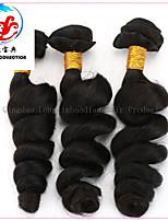 3 stuks 5a heet verkoop natuurlijke kleur losse golf remy Maleisische haar weave