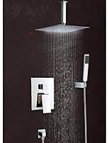 Wall Mounted Rain Shower Faucet Set 12