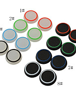 Silicone Noctilucent Cap Thumb Stick Joystick Grip for Sony PlayStation4 PS2 PS3 PS4 Xbox one 360 Controller(2 PCS)