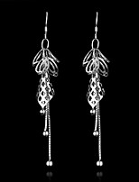 Cute/Party/Casual Sterling Silver Drop Earrings