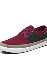 Men's Shoes Casual Suede/Fabric Fashion Sneakers Blue/Red/Navy
