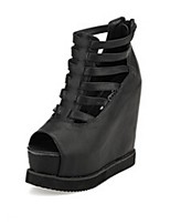 Women's Shoes Platform Platform Sandals Casual Black