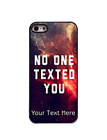 Personalized Gift No One Texted You Design Aluminum Hard Case for iPhone 4/4S