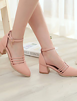 Women's Shoes Chunky  Heel Pointed Toe  Pumps Shoes More Colors available