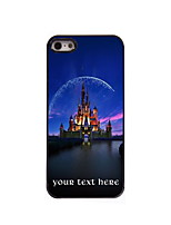 Personalized Gift Castle Design Aluminum Hard Case for iPhone 5/5S